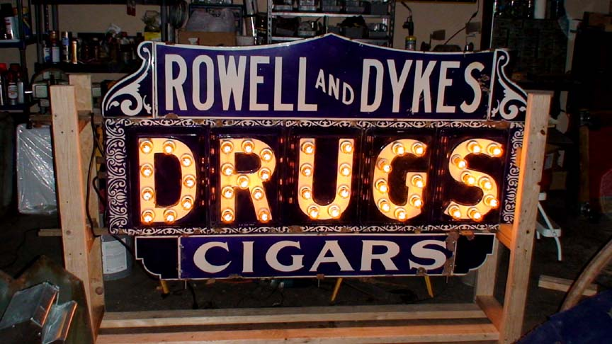 Vintage Signs For Sale >> Vintage Porcelain Signs For Sale Vintage Neon Signs