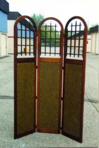 Old Original Vintage Mission Oak Room Divider in Excellent Condition..$1500