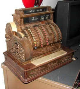 Excellent working condition Original Old Cash Register, Vintage & Old  .$1500