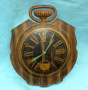 Early Trade Sign For Pocket Watches. Made of Plaster & Horse Hair ......$995
