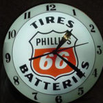 Vintage Phillips 66 DB Clock