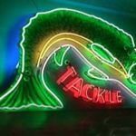 Original Vintage Neon Fishing Tackle Sign