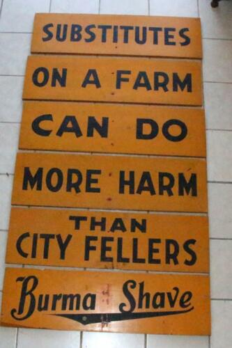 burma  shave yellow boards1