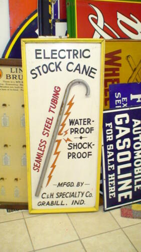 electric stock cane